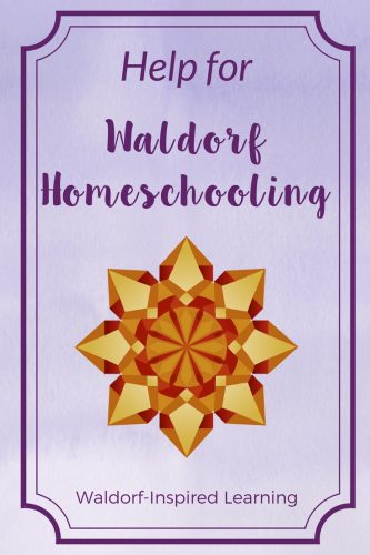 Free resources & help for Waldorf homeschooling