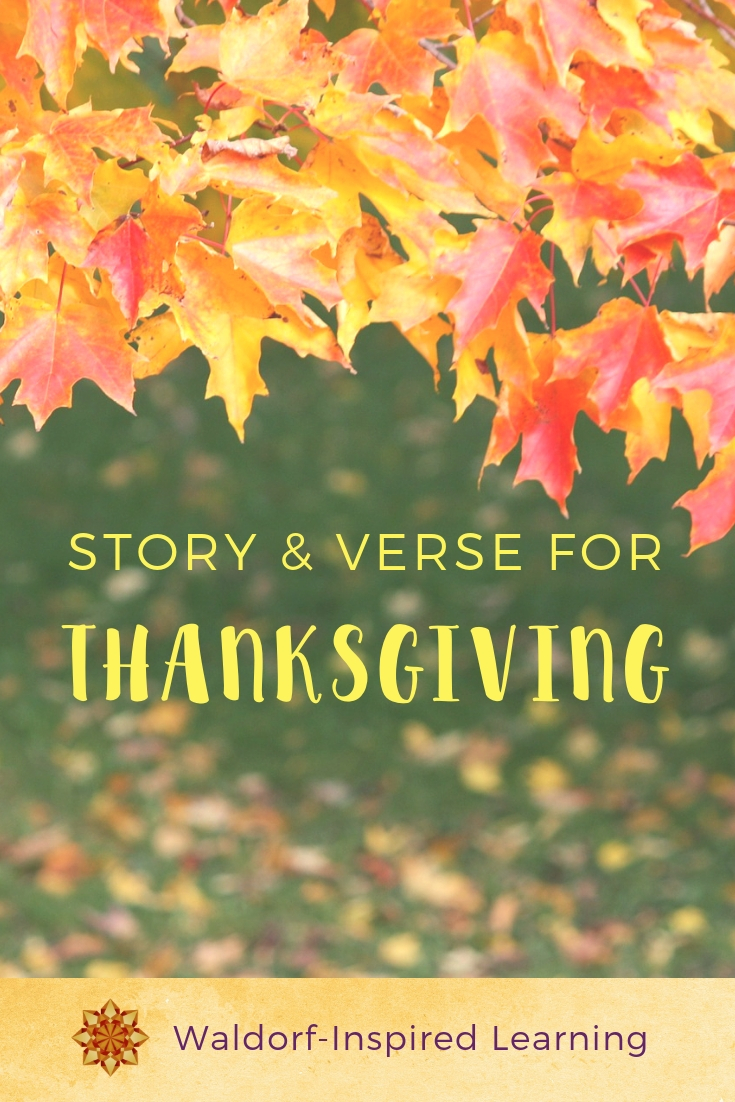 Story & Verse for Thanksgiving