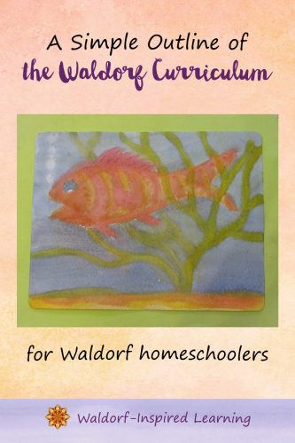 The Waldorf curriculum emphasizes the whole child, matches stages of child development, and integrates the arts. A simple outline for homeschoolers.