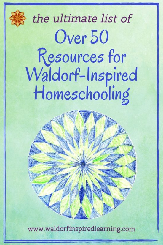 Resources for Waldorf Homeschooling ⋆ Waldorf-Inspired Learning