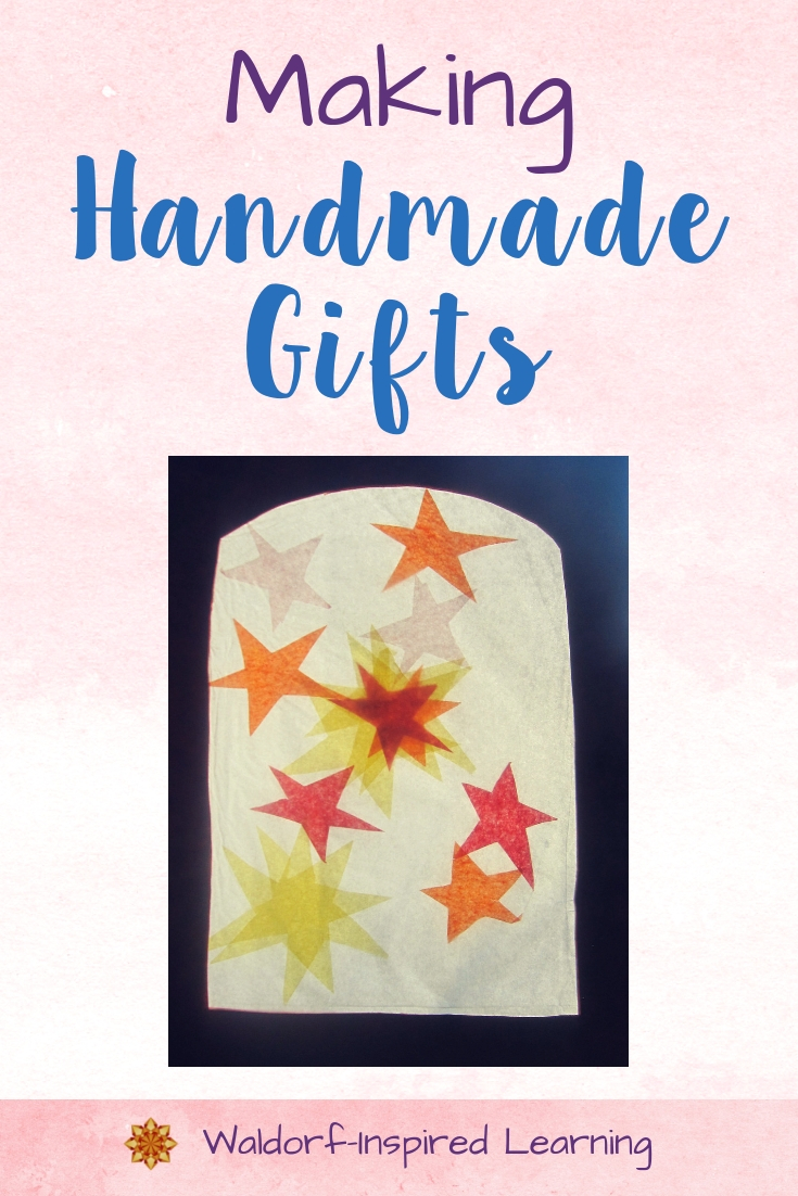 Making Handmade Gifts with Children