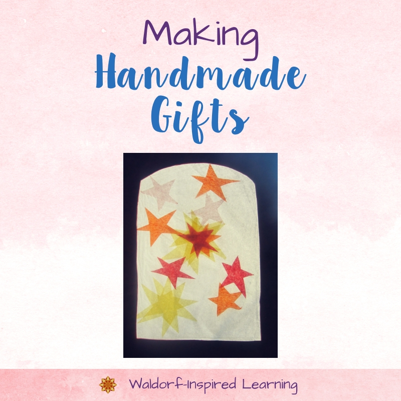 Making Handmade Gifts in December