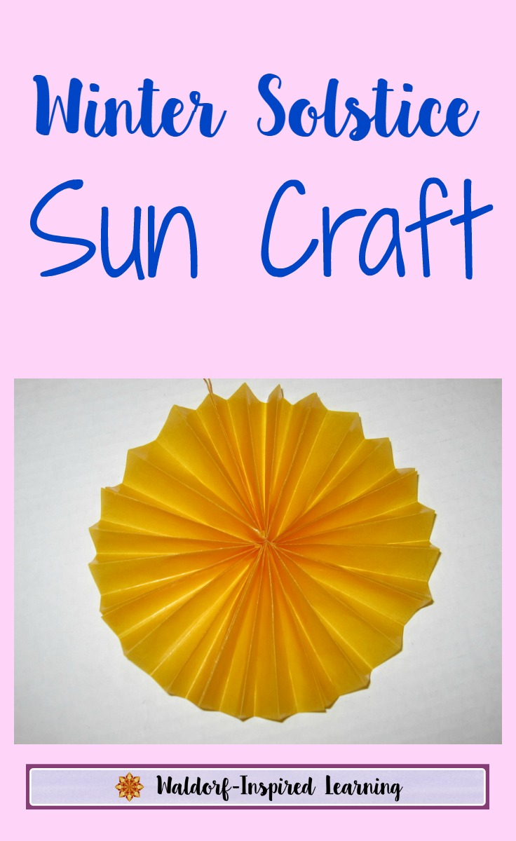 winter solstice sun craft waldorf inspired learning. Black Bedroom Furniture Sets. Home Design Ideas