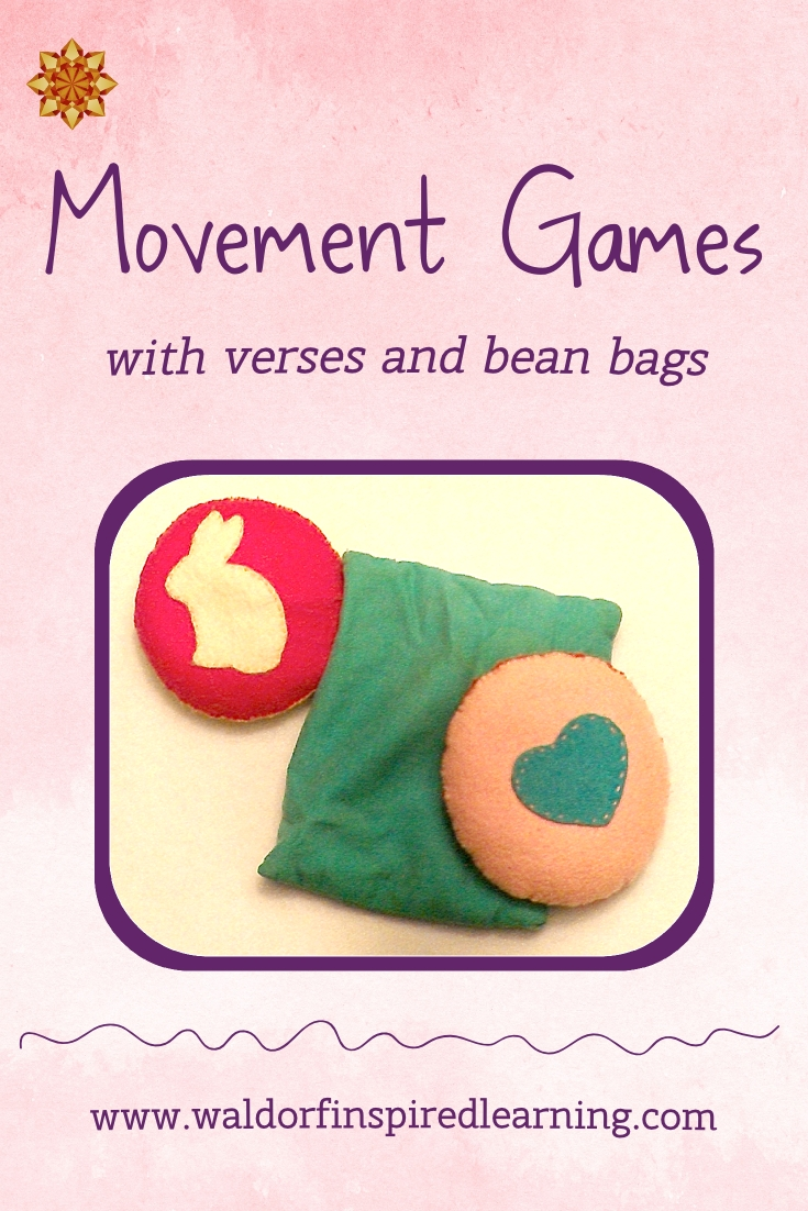 Movement Games for Children with verses and bean bags