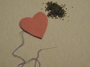 Felt Heart Sachet