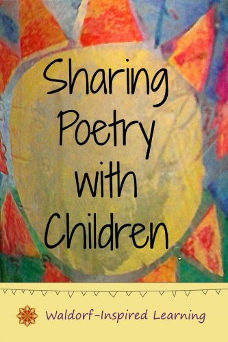 Sharing poetry with children is playful and fun. Plus it's a great learning activity leading to literacy skills and a strong language arts foundation.