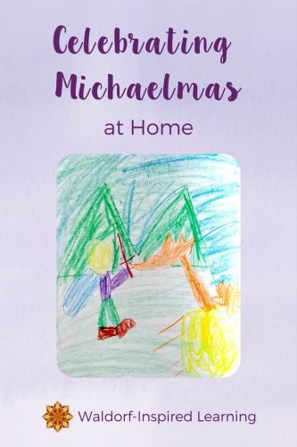 Michaelmas is a fall celebration that takes place in many Waldorf communities. Here some ideas for celebrating this autumn festival at home with verses, a story or play, and dragon bread.