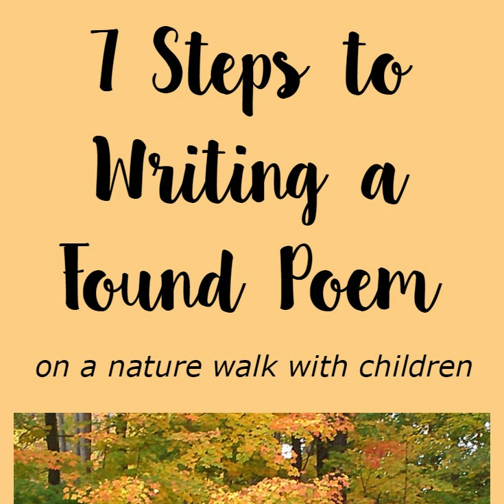 Steps to write a found poem