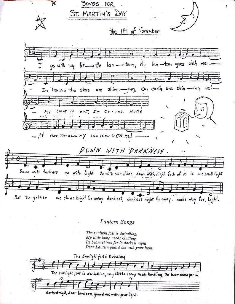 Lantern Song Sheets