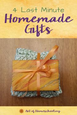 4 Last Minute Handmade Gifts