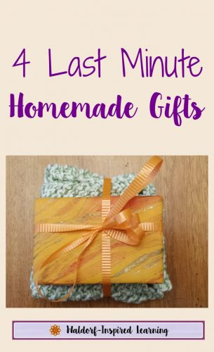 4 last minute homemade gifts waldorf inspired learning 4 last minute homemade gifts great for frugal christmas gifts and to teach gift solutioingenieria Choice Image