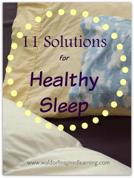 Solutions for Healthy Sleep