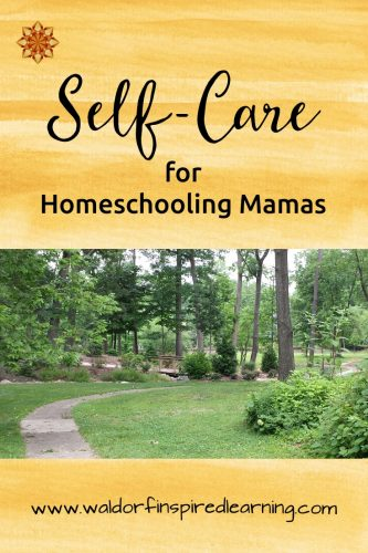 Feeling bad about ourselves is not a good starting point for self care! Instead, try one of these tools for self-care for homeschooling Moms.