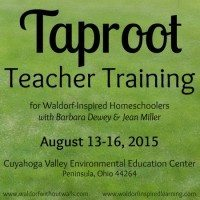 Taproot Teacher Training, Summer 2015