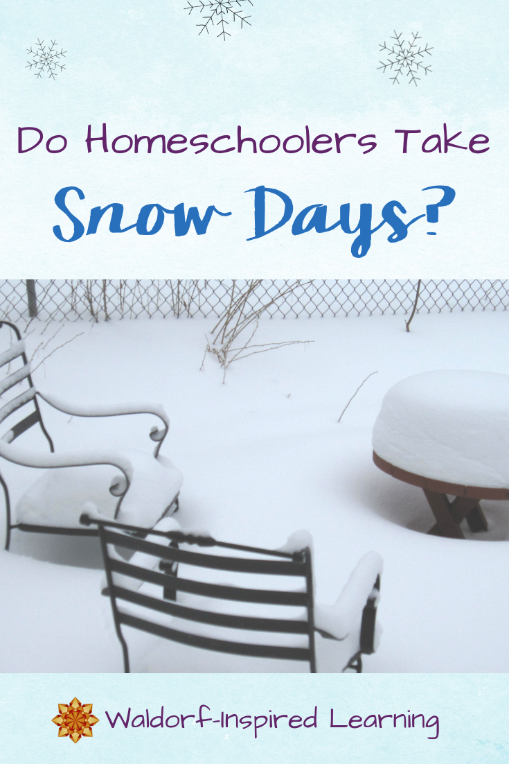 Do Homeschoolers Take Snow Days?