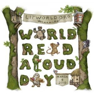 It's World Read Aloud Day