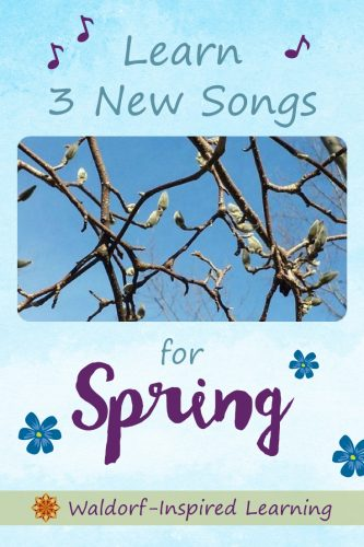 Learn 3 new Songs for Spring
