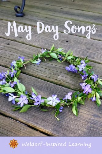 """Learn to sing May Day songs for dancing around the Maypole. A recording of """"Here's a Branch of Snowy May."""" Wishing you a delightful May Day!"""