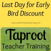 Last Day for Taproot Early Bird Discount