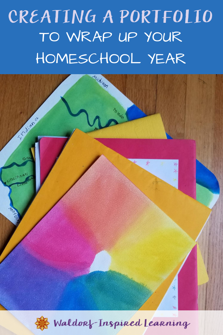 Creating a Portfolio to Wrap Up Your Homeschool Year