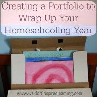 Creating a Portfolio to Wrap Up Your Homeschooling Year