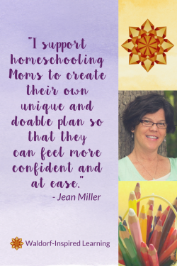 Support from Jean Miller homeschooling mentor