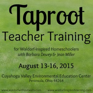 Taproot Teacher Training, August 13-16, 2015