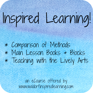 Inspired Learning! Waldorf homeschooling online course