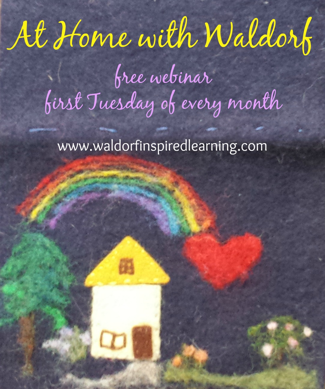 At home with waldorf waldorf inspired learning for Waldorf home