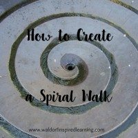 How to Create a Spiral Walk