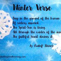 Winter Verse
