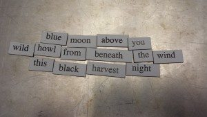 Blue Moon haiku