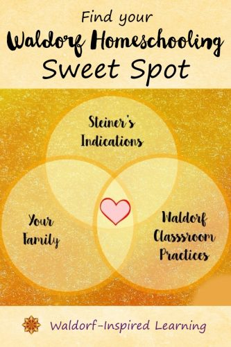 Find Your Waldorf Homeschooling Sweet Spot