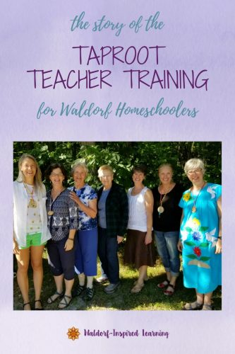 Seven presenters at Taproot Teacher Training