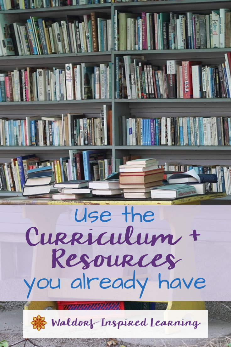 Use the Curriculum and Resources You Already Have