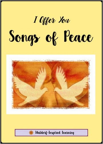 """In response to all of the craziness in the world, the Singing Circle Sisters created these recordings of songs of peace for other Moms and women. Includes lyrics. """"Where words fail, music speaks."""" I Offer You Songs of Peace"""