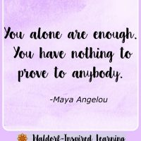 You Alone Are Enough