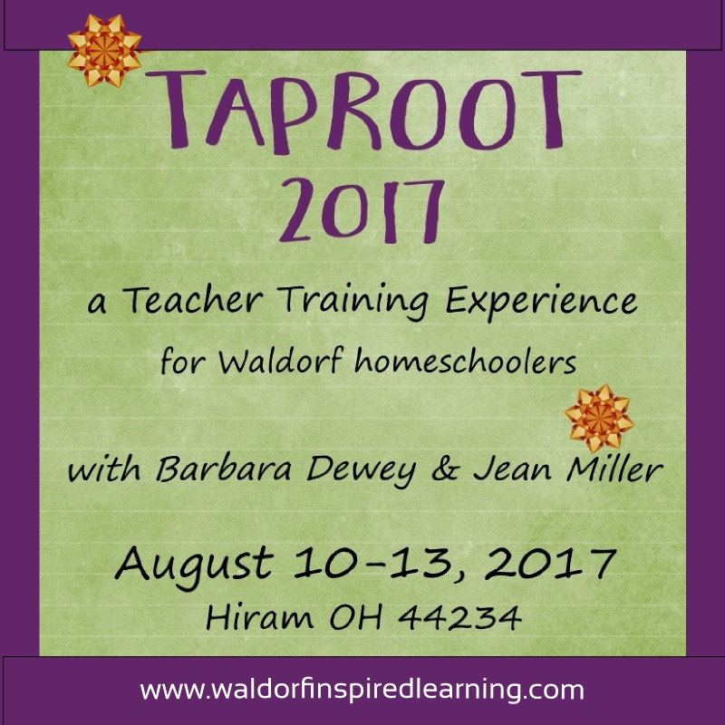 Taproot Teacher Training 2017