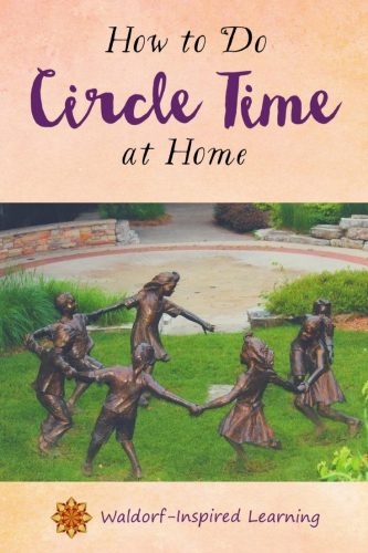 How To Do Circle Time At Home