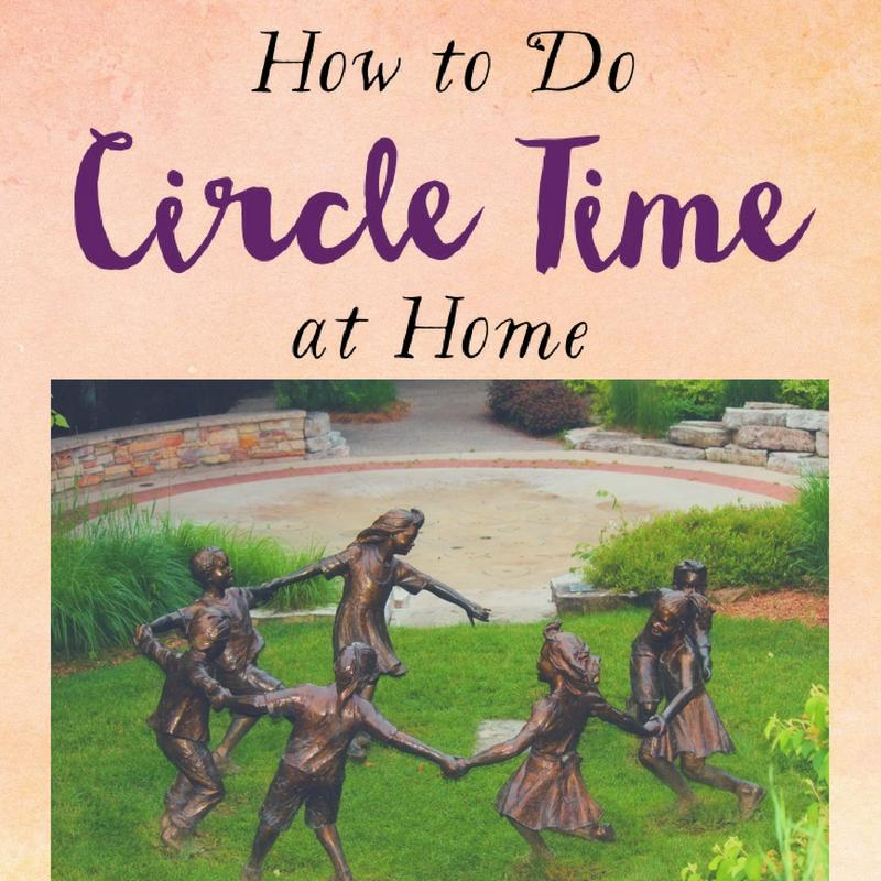 How To Do Circle Time at Home ⋆ Waldorf-Inspired Learning