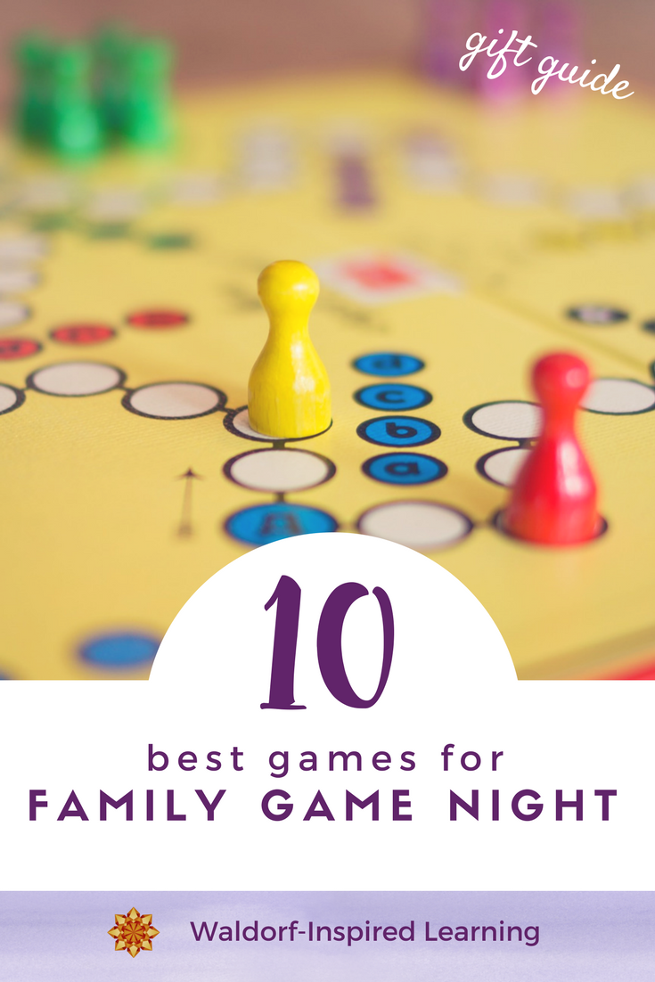 10 Best Games For Family Game Night Waldorf Inspired Learning
