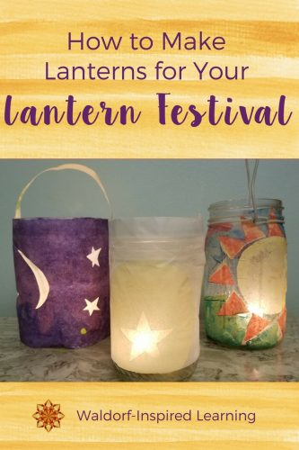 Tutorial or making 8 different types of lanterns, with video
