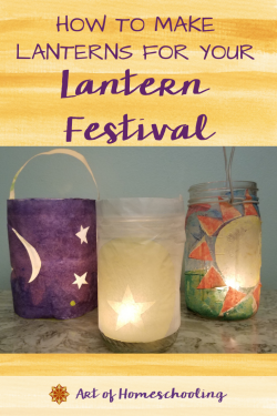 Here are 8 different ideas for how to make lanterns for your Fall Lantern Festival. So gather your children around and create these wonders of light.