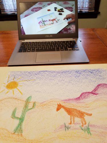 Waldorf Art Drawing