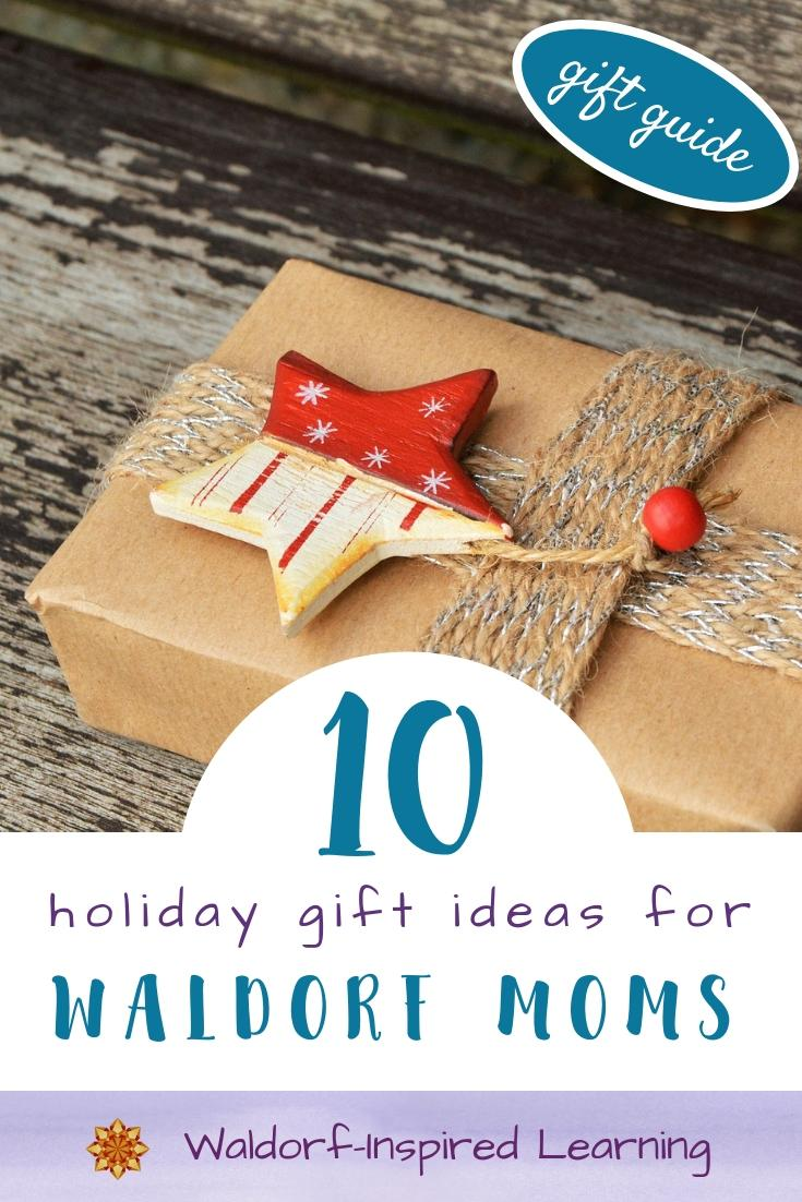 10 Holiday Gift Ideas for Waldorf Moms