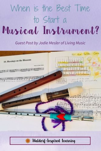 When to Start a Musical Instrument with your children