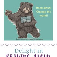 Bear Reading Book
