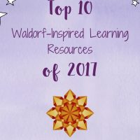 Top 10 Waldorf-Inspired Learning Resources of 2017 and stars