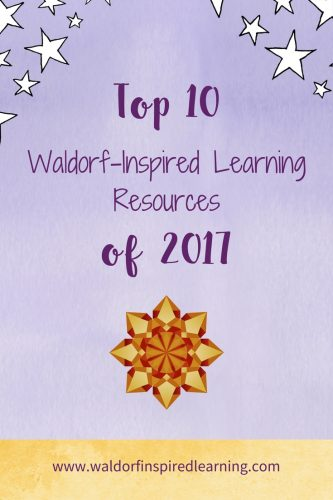 Top Waldorf-Inspired Learning Resources of 2017 and stars