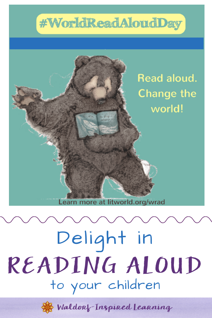 Delight in Reading Aloud to Your Children